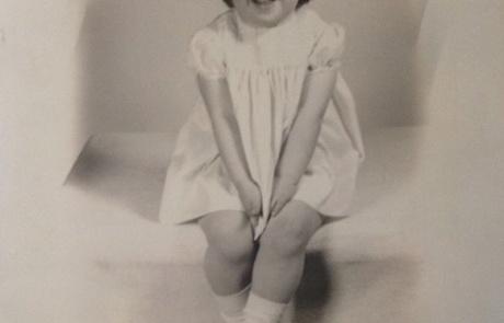 Lori at 2 years old