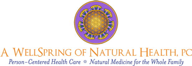 A WellSpring of Natural Health, PC Retina Logo